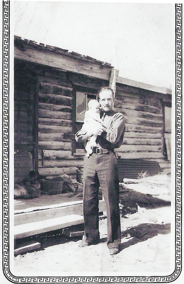 Clifford Warner with son