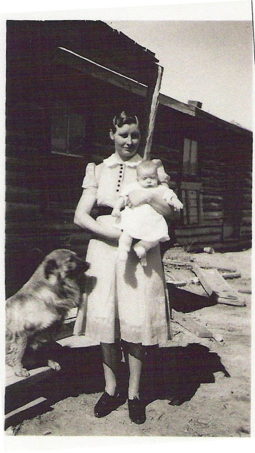 Dicy Leithead (Warner), son, and Nipper